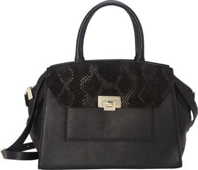 Trina Turk Palm Coast Satchel Black Multi - Trina Turk Designer Handbags