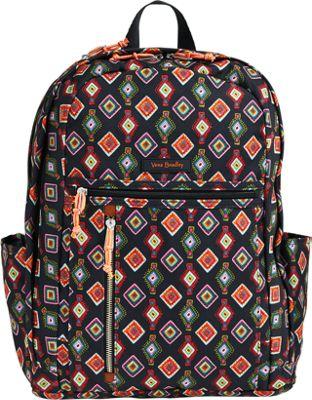 Vera Bradley Lighten Up Grande Backpack Mini Medallions - Vera Bradley Everyday Backpacks