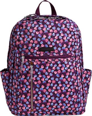 Vera Bradley Lighten Up Grande Backpack Berry Burst - Vera Bradley Everyday Backpacks