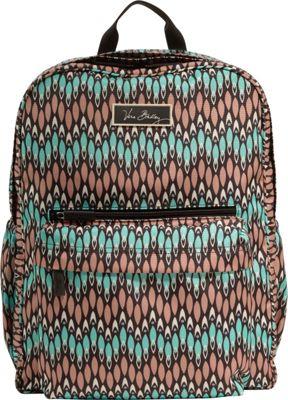 Vera Bradley Lighten Up Grande Backpack Sierra Stream - Vera Bradley School & Day Hiking Backpacks