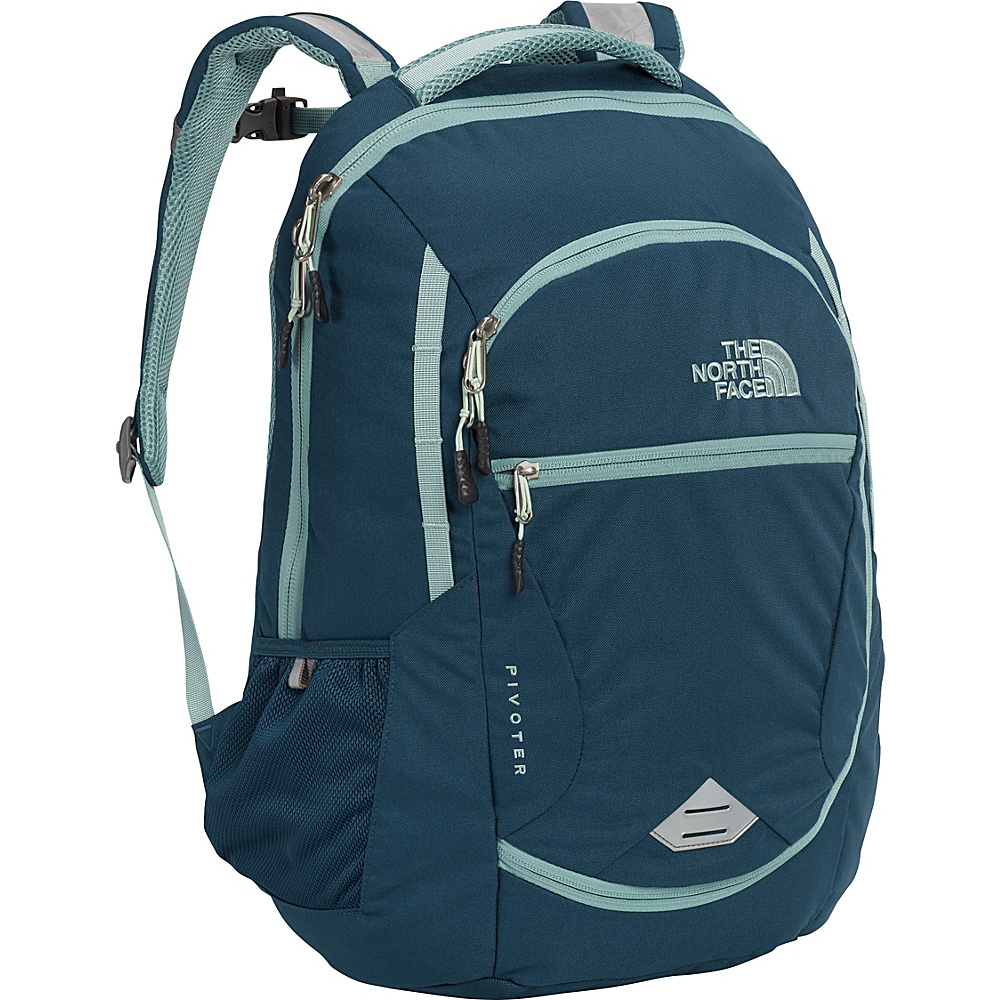 The North Face Womens Pivoter Laptop Backpack Monterey Blue - The North Face Business & Laptop Backpacks - Backpacks, Business & Laptop Backpacks