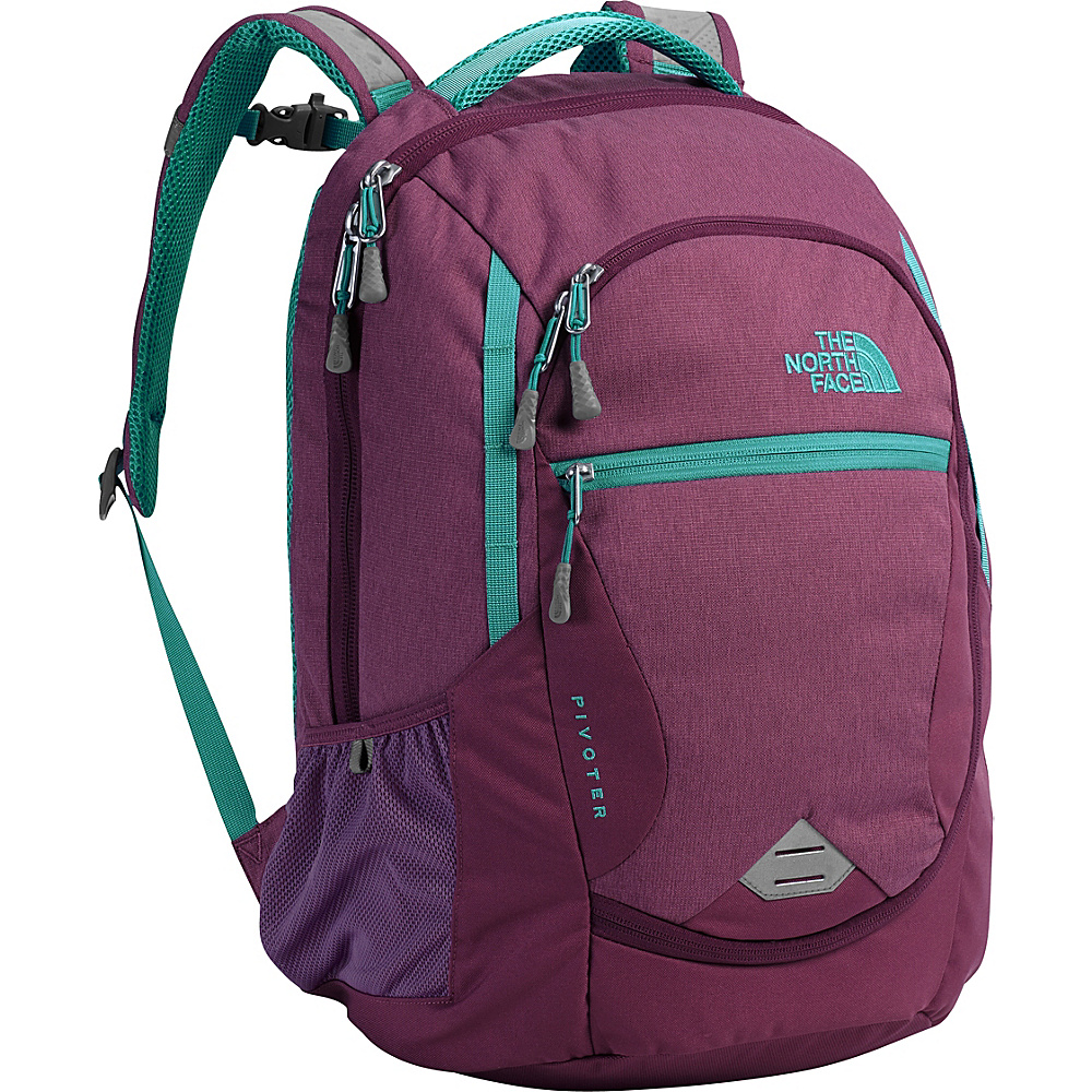 The North Face Womens Pivoter Laptop Backpack Amaranth Purple - The North Face Business & Laptop Backpacks - Backpacks, Business & Laptop Backpacks