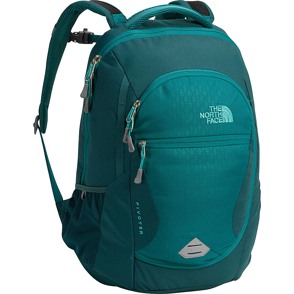 The North Face Womens Pivoter Laptop Backpack Harbor Blue Embossed - The North Face Business & Laptop Backpacks - Backpacks, Business & Laptop Backpacks