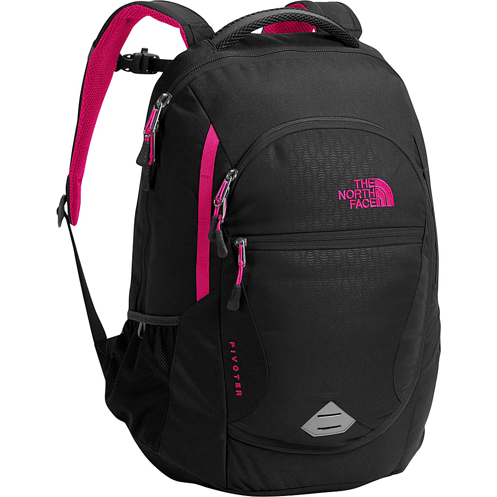 The North Face Womens Pivoter Laptop Backpack TNF Black Embossed - The North Face Business & Laptop Backpacks - Backpacks, Business & Laptop Backpacks