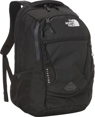 The North Face Women's Pivoter Laptop Backpack TNF Black - The North Face Business & Laptop Backpacks