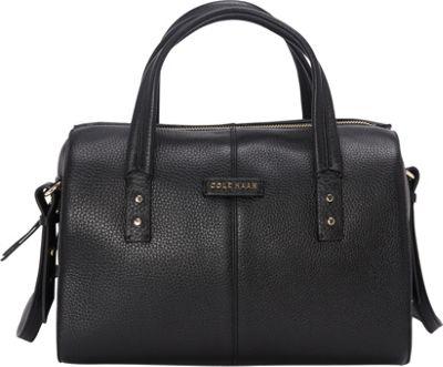 Cole Haan Emma Satchel Black - Cole Haan Designer Handbags