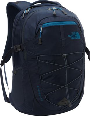 The North Face Borealis Laptop Backpack - 15 inch Urban Navy/Banff Blue - The North Face Business & Laptop Backpacks