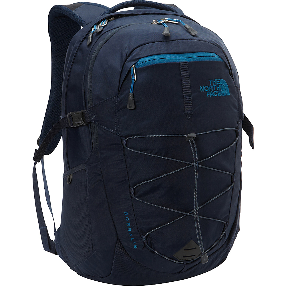 The North Face Borealis Laptop Backpack Urban Navy Banff Blue The North Face Business Laptop Backpacks