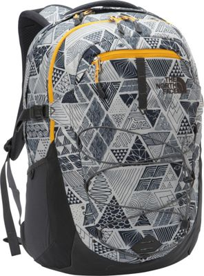 The North Face Borealis Laptop Backpack - 15 inch Trickonometry Print/Radiant Yellow - The North Face Business & Laptop Backpacks