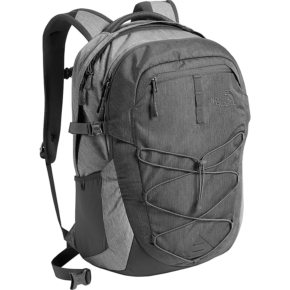 The North Face Borealis Laptop Backpack - 15 Tnf Dark Grey Heather/Tnf Medium Grey Heather - The North Face Business & Laptop Backpacks - Backpacks, Business & Laptop Backpacks