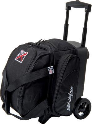 KR Strikeforce Bowling Cruiser Single Bowling Ball Roller Bag Black - KR Strikeforce Bowling Bowling Bags