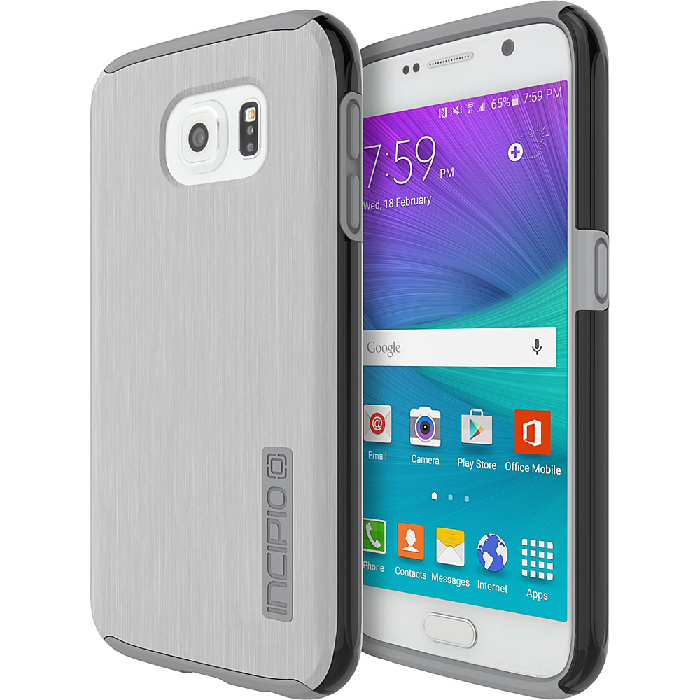 Incipio DualPro SHINE for Samsung Galaxy S6 Silver/Smoke - Incipio Electronic Cases - Technology, Electronic Cases