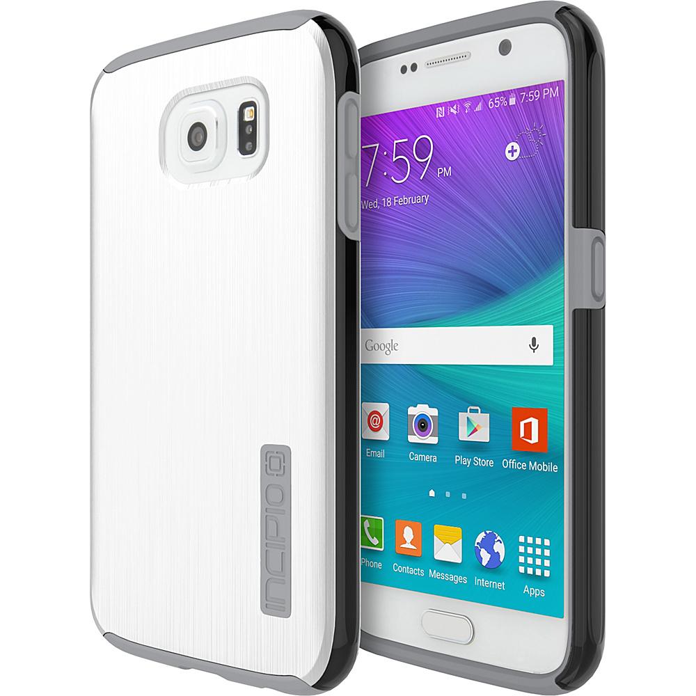 Incipio DualPro SHINE for Samsung Galaxy S6 White/Light Gray - Incipio Electronic Cases - Technology, Electronic Cases