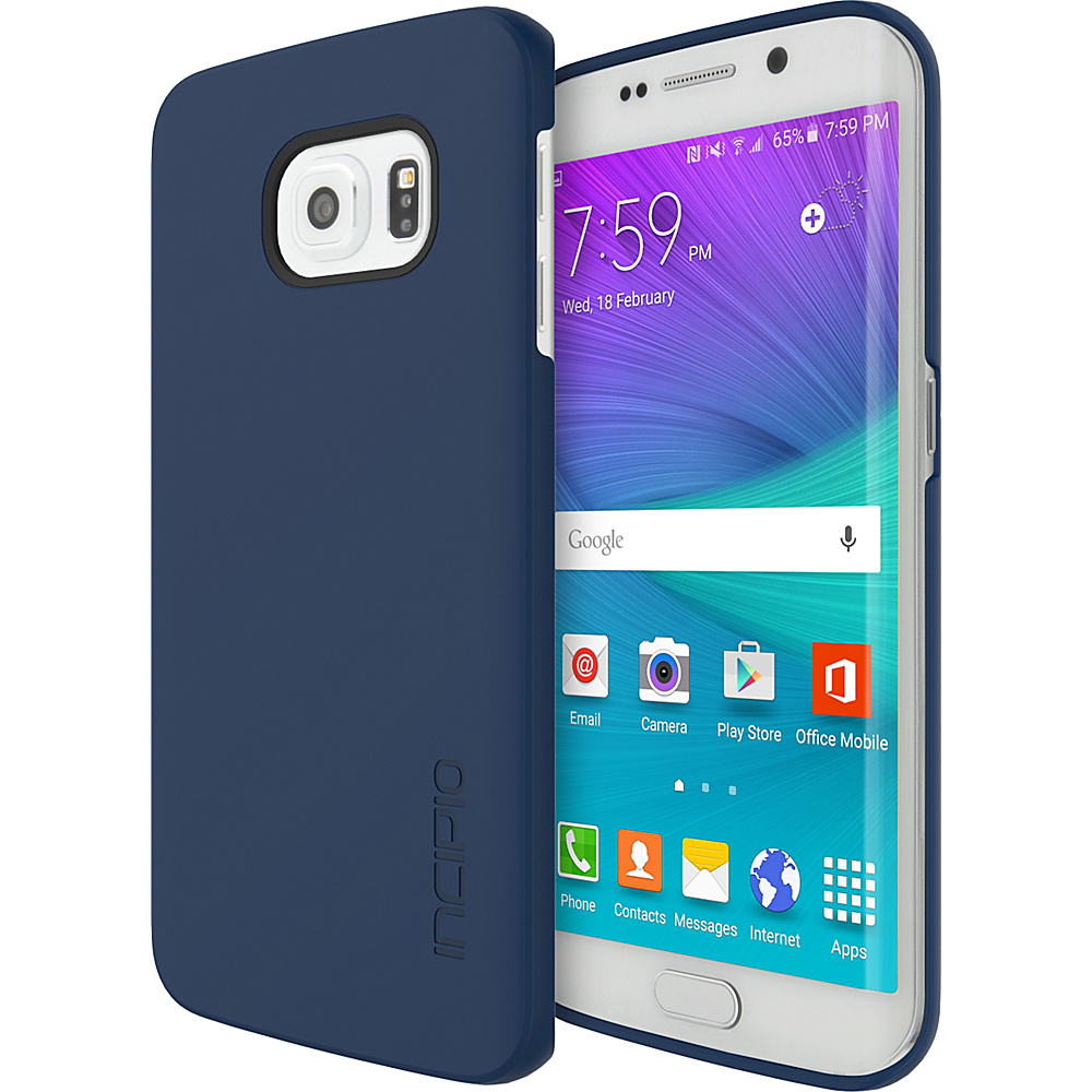 Incipio Feather for Samsung Galaxy S6 Edge Navy - Incipio Electronic Cases - Technology, Electronic Cases