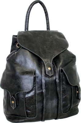 Nino Bossi Carry it All Back Pack for Him and Her Black - Nino Bossi Everyday Backpacks