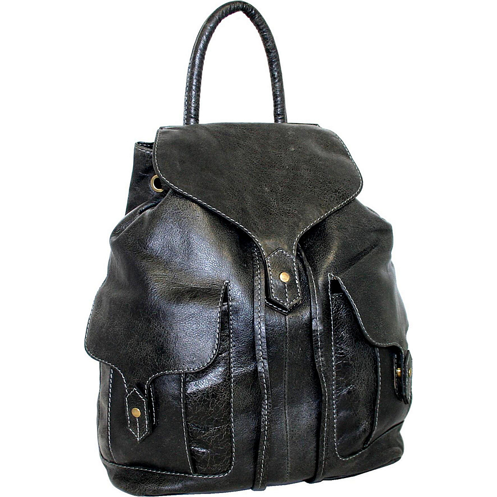 Nino Bossi Carry it All Back Pack for Him and Her Black Nino Bossi Everyday Backpacks