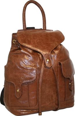 Nino Bossi Carry it All Back Pack for Him and Her Cognac - Nino Bossi School & Day Hiking Backpacks