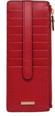 Lodis Stephanie RFID Credit Card Case Red - Lodis Women's Wallets