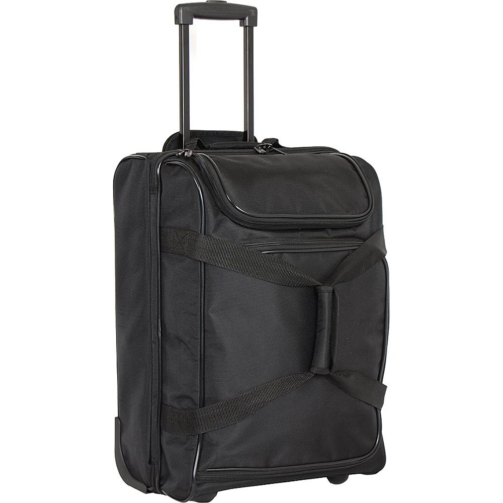 Netpack Travel Wheeled Duffel Black Netpack Rolling Duffels