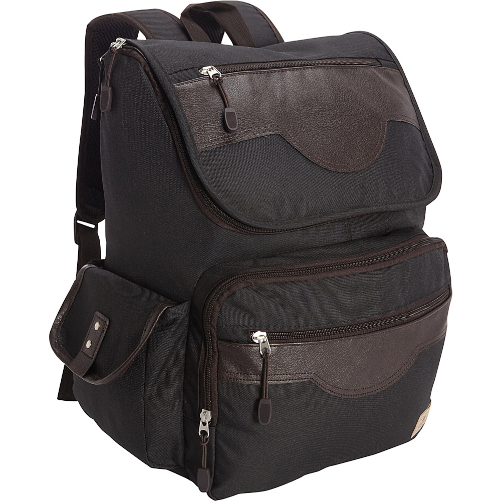Everest Wrangler Laptop Backpack Black - Everest Business & Laptop Backpacks - Backpacks, Business & Laptop Backpacks