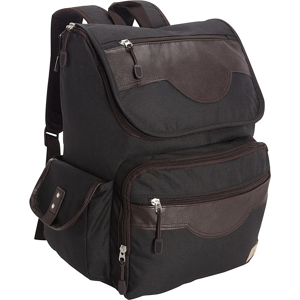 Everest Wrangler Laptop Backpack Black - Everest Business & Laptop Backpacks - Backpacks, Business & Laptop Backpacks