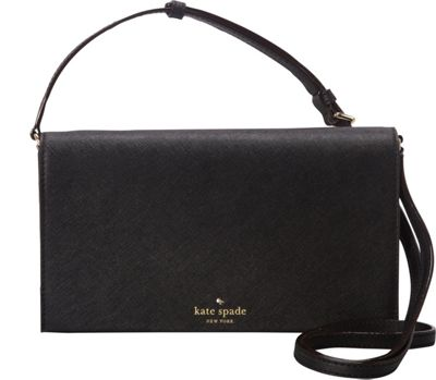 kate spade new york Cedar Street Cali Crossbody Black - kate spade new york Designer Handbags
