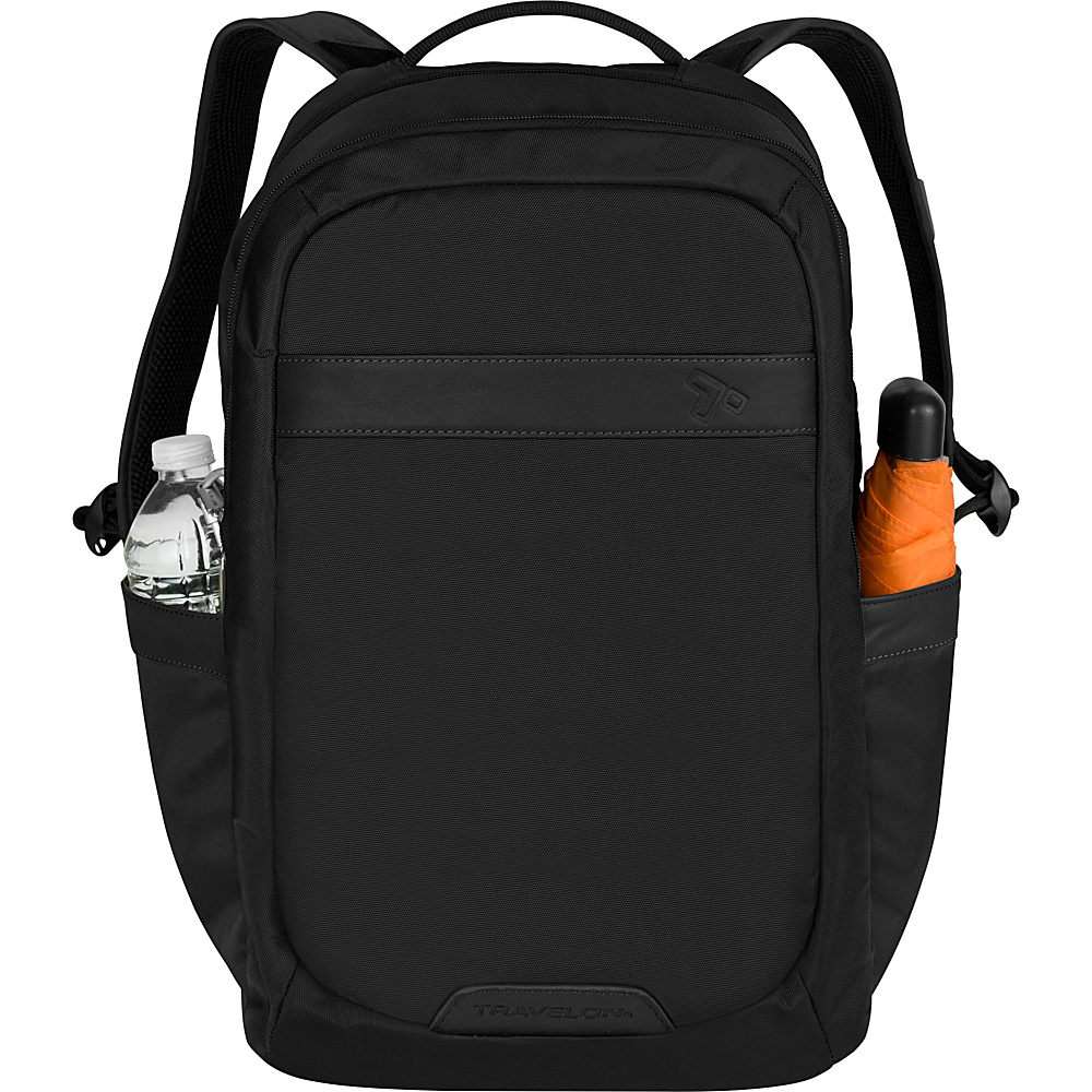 Travelon Anti-Theft Classic 2-Compartment Backpack Black - Travelon School & Day Hiking Backpacks - Backpacks, School & Day Hiking Backpacks