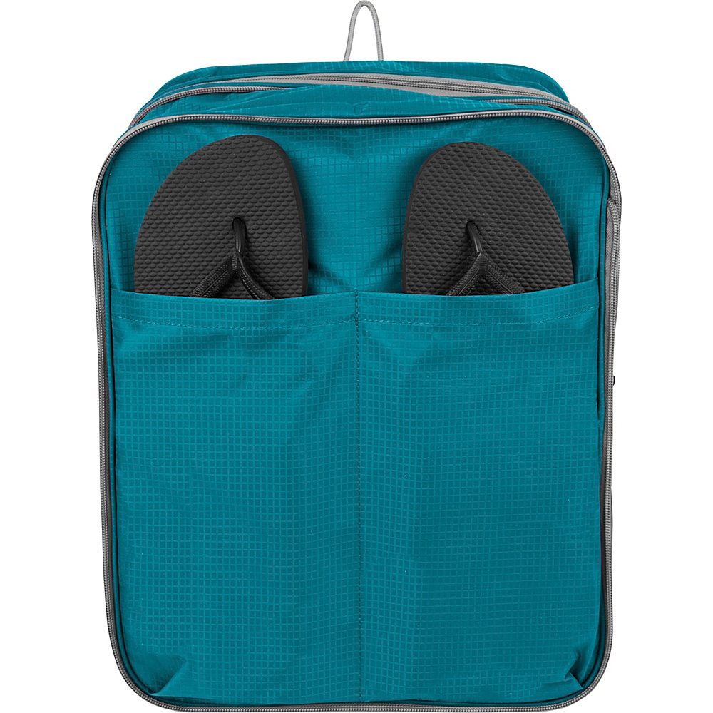 Travelon Expandable Packing Cube Aqua Travelon Travel Organizers