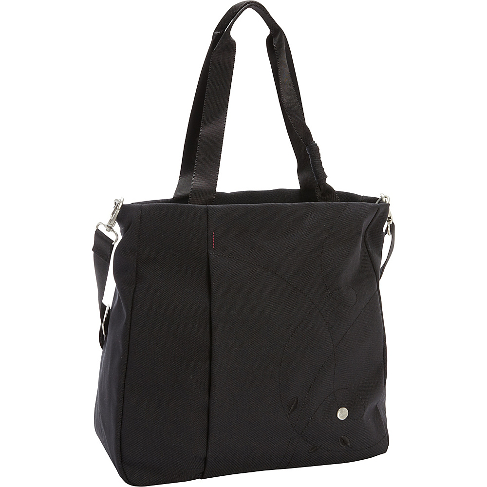 Haiku Journey Tote Black Haiku Fabric Handbags