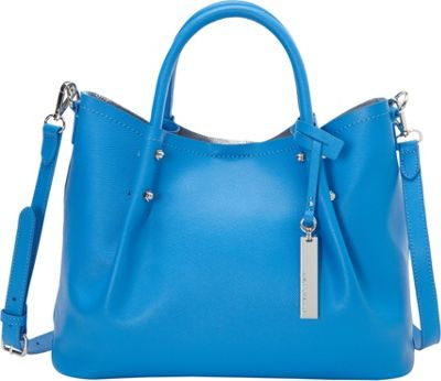 Vince Camuto Tosha Small Tote Electric Blue - Vince Camuto Designer Handbags