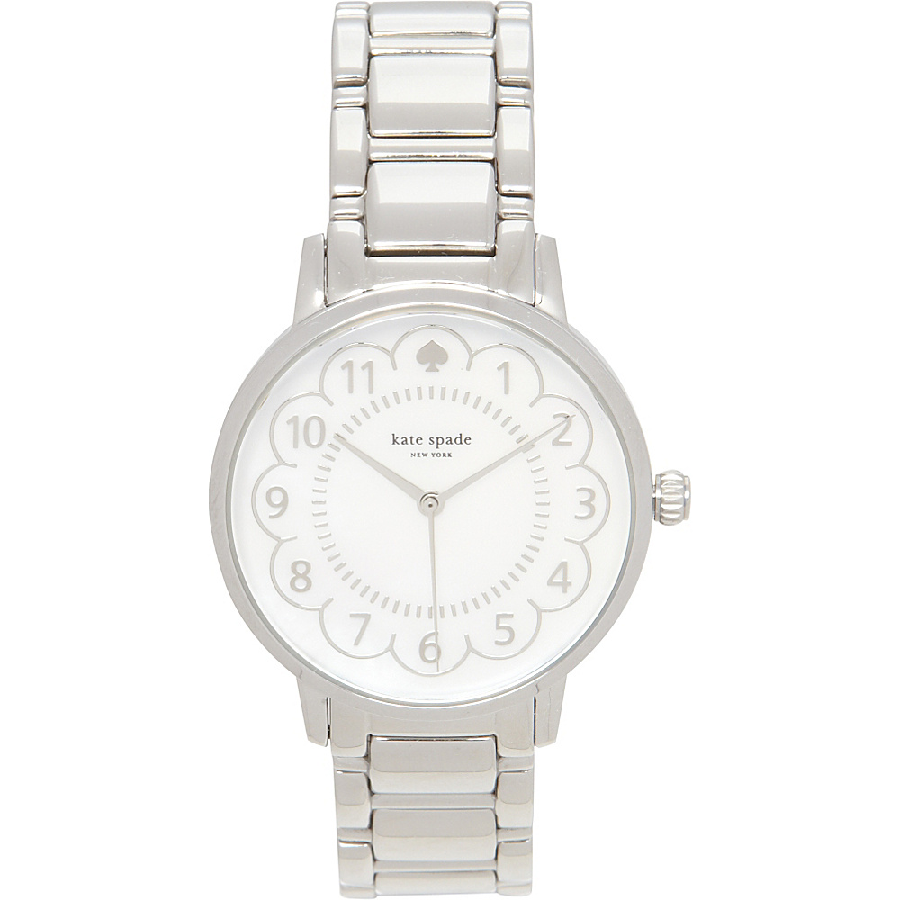 kate spade watches Scallop Gramercy Watch Silver kate spade watches Watches