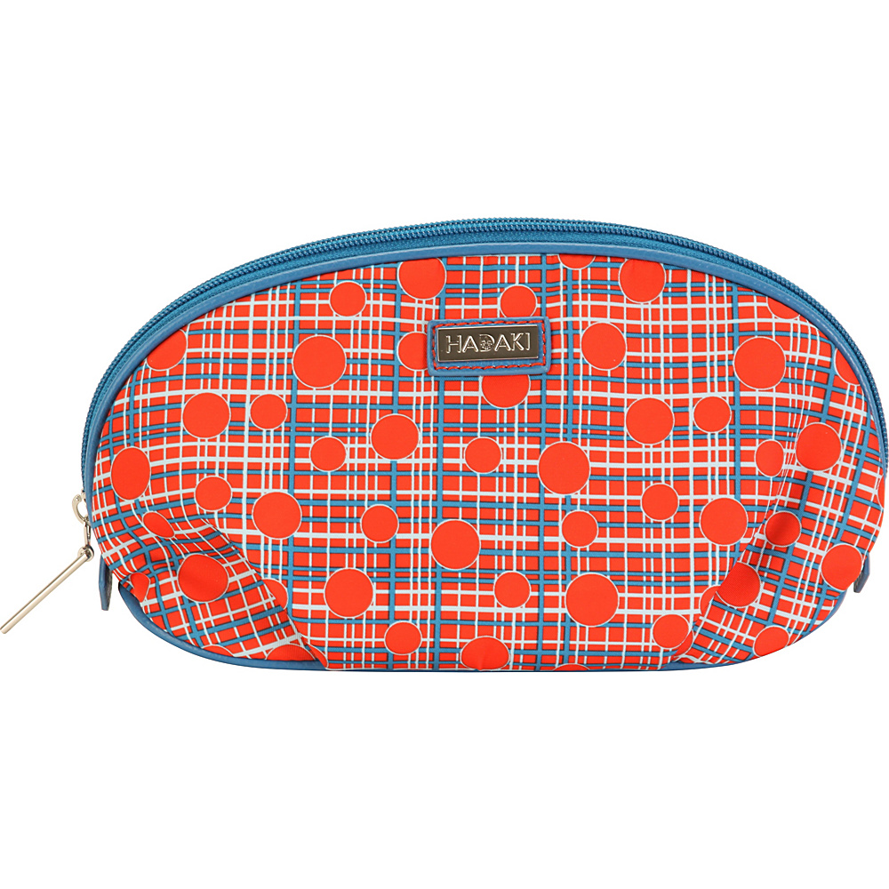 Hadaki Origami Toiletry Pod Fiery Red Plaid - Hadaki Toiletry Kits - Travel Accessories, Toiletry Kits