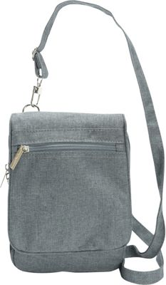 Sacs Collection by Annette Ferber Everyday Companion Charcoal - Sacs Collection by Annette Ferber Fabric Handbags