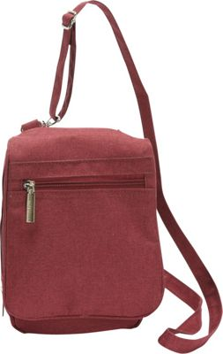 Sacs Collection by Annette Ferber Everyday Companion Wine - Sacs Collection by Annette Ferber Fabric Handbags