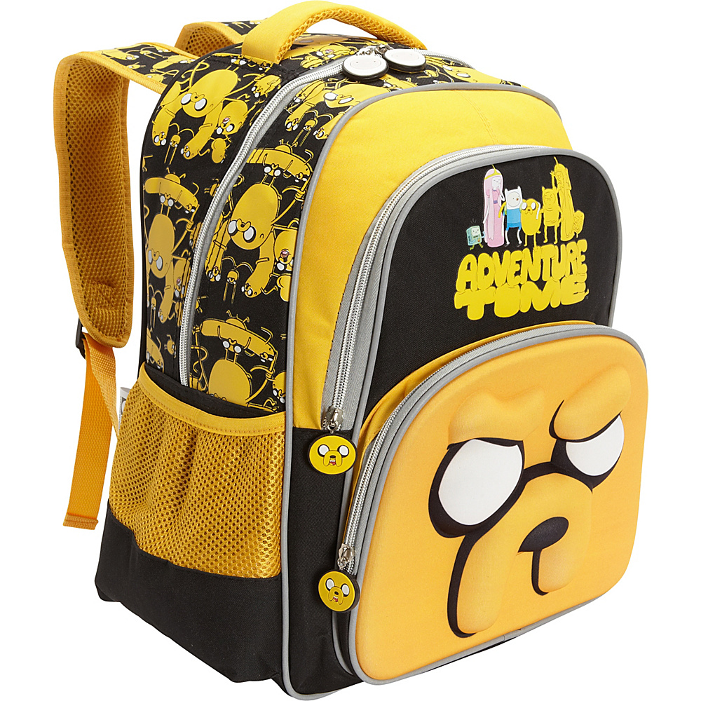 pb travel AT Jake The Dog Backpack 3D Red - pb travel School & Day Hiking Backpacks