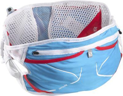 Salomon S-Lab Advanced Skin 3 Belt Set White/Blue Line - Salomon Waist Packs