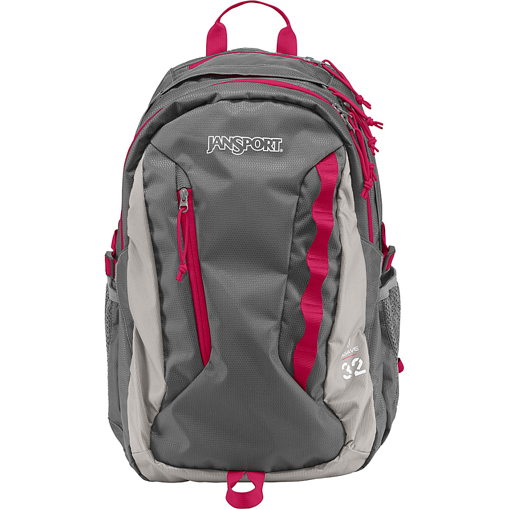 JanSport Womens Agave Laptop Backpack New Storm Grey - Monochrome - JanSport Laptop Backpacks - Backpacks, Laptop Backpacks