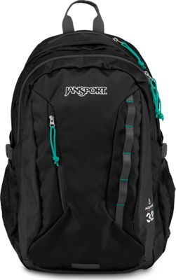 JanSport Women's Agave Laptop Backpack Black - JanSport Business & Laptop Backpacks