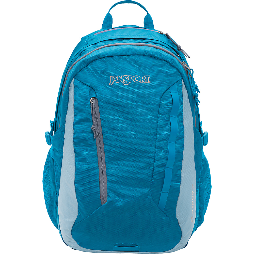 JanSport Women''s Agave Laptop Backpack Blue Crest / Steel Blue - JanSport Business & Laptop Backpacks