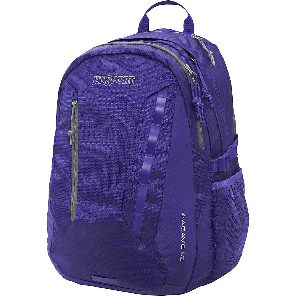 JanSport Womens Agave Laptop Backpack Violet Purple - Black Label - JanSport Business & Laptop Backpacks - Backpacks, Business & Laptop Backpacks