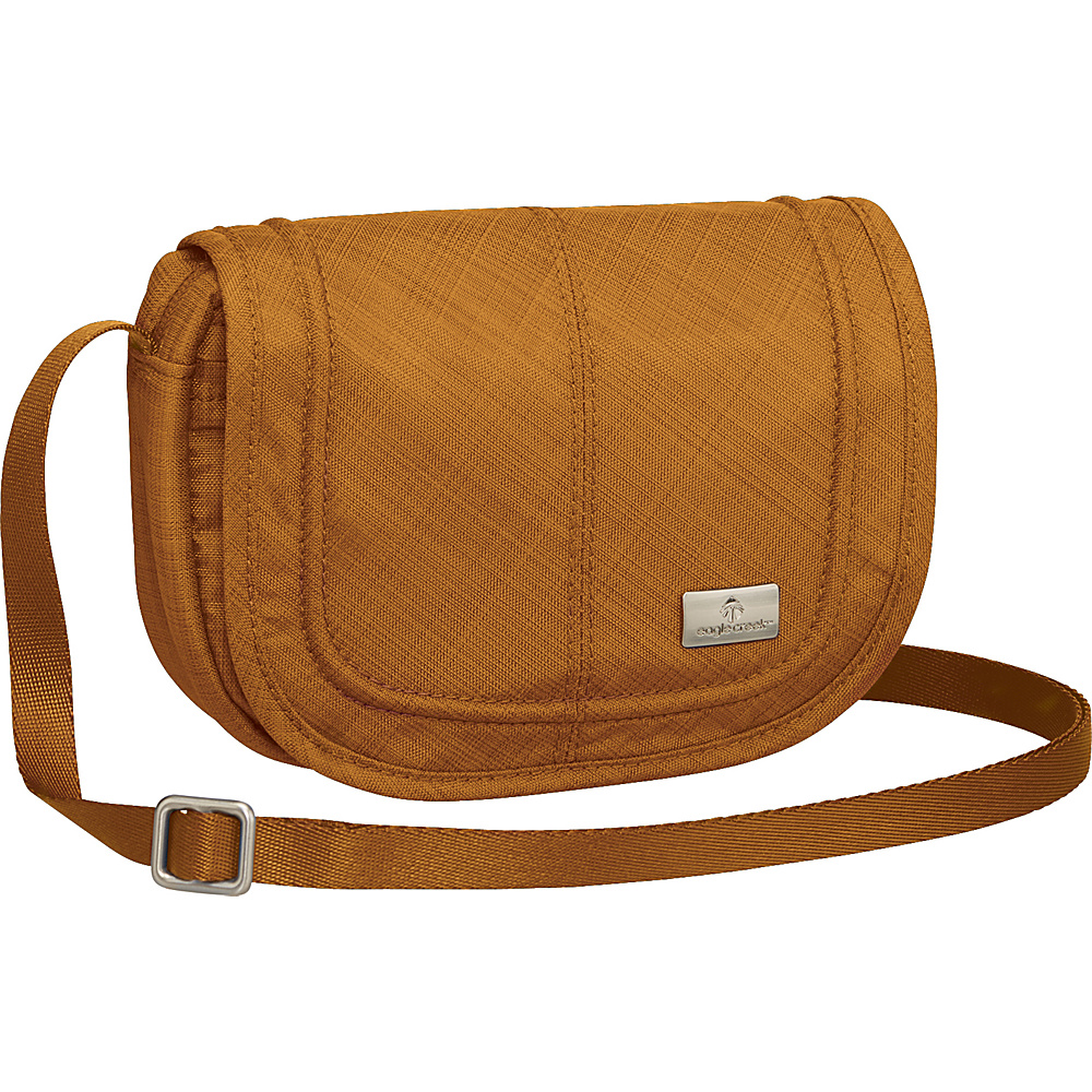 Eagle Creek Mini Crossbody RFID Camel - Eagle Creek Fabric Handbags