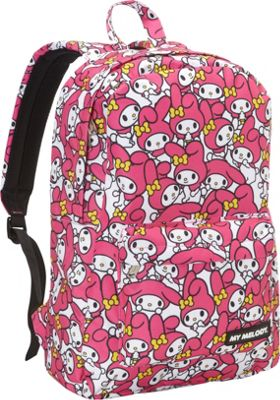 Loungefly Loungefly My Melody Backpack Pink - Loungefly Everyday Backpacks