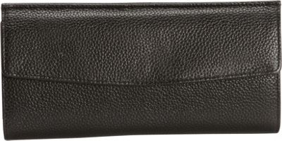 Leatherbay Sleek Wallet Black - Leatherbay Women's Wallets