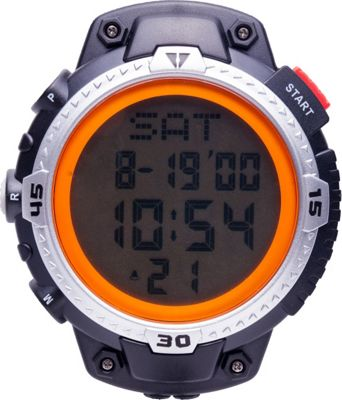 Smith & Wesson Watches Sports Digital Stop Watch with Lanyard Black - Smith & Wesson Watches Watches