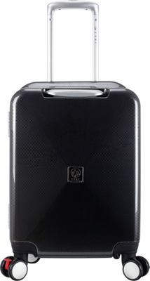 Travelers Club Luggage Celestial 20 inch Seat-On Carry-On Charcoal - Travelers Club Luggage Kids' Luggage