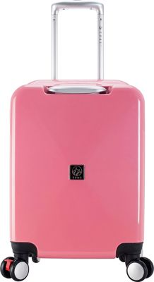 Travelers Club Luggage Celestial 20 inch Seat-On Carry-On Pink - Travelers Club Luggage Kids' Luggage