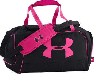 Under Armour Women's Watch Me Duffel Black/Black/Rebel Pink - Under Armour All Purpose Duffels