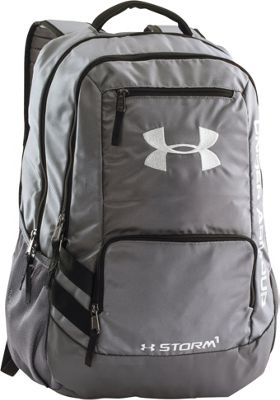 Under Armour Hustle Backpack II Graphite/Graphite/Silver - Under Armour Business & Laptop Backpacks 10366571