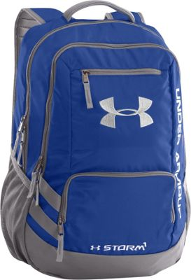 Under Armour Hustle Backpack II Royal/Graphite/Silver - Under Armour Laptop Backpacks