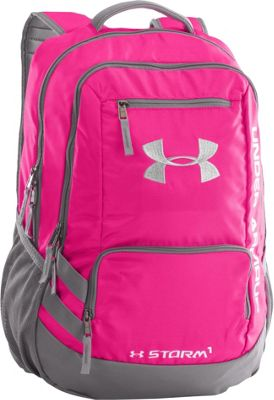 Under Armour Hustle Backpack II Tropic Pink/Graphite/White - Under Armour Business & Laptop Backpacks 10366578